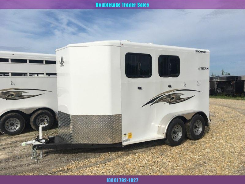 2019 Titan Trailers ROYAL II Horse Trailer
