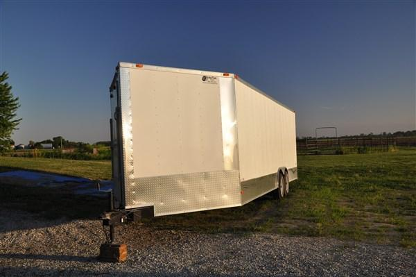 8.5 X 24 Enclosed Trailer with Front Ramp