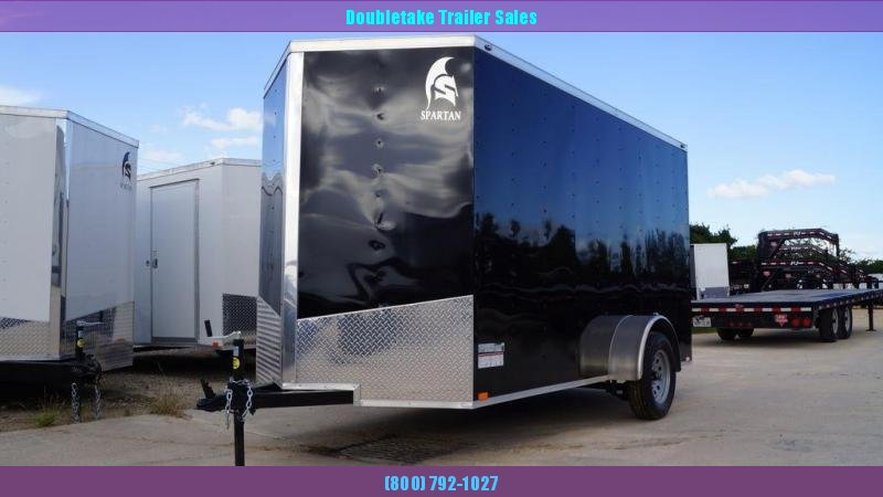 2020 Spartan 6X12SA Enclosed Cargo Trailer