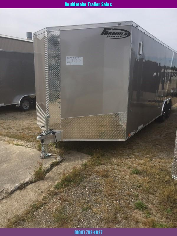 2019 Formula Trailers FACFA8.5X20TE2FF ALUMINUM Car / Racing Trailer