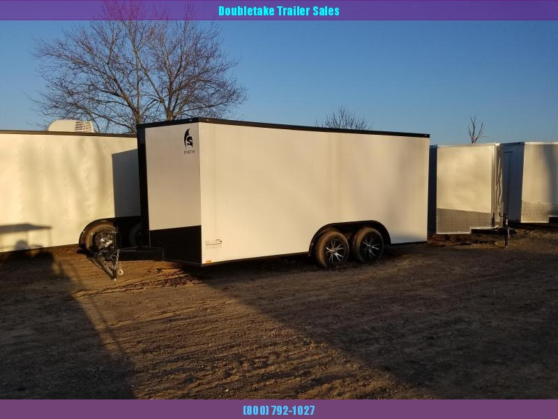 2019 Spartan 85X16TA Enclosed Cargo Trailer
