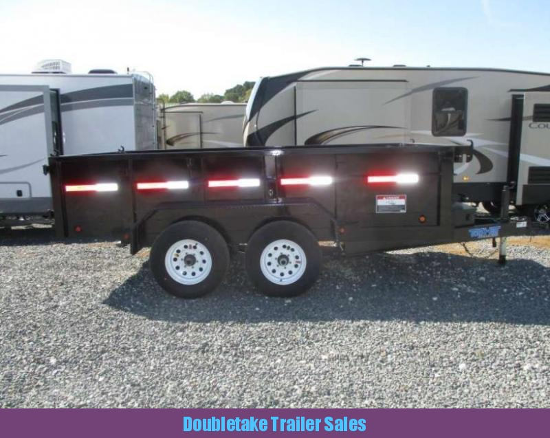 2018 Top Hat Trailers TOP HAT DP 100 Open Dump Trailer in Clearmont, MO