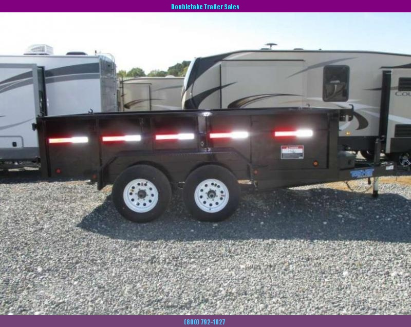 2018 Top Hat Trailers TOP HAT DP 100 Open Dump Trailer in Fairfax, MO