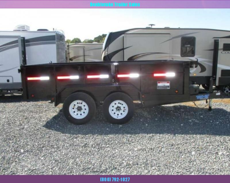 2018 Top Hat Trailers TOP HAT DP 100 Open Dump Trailer