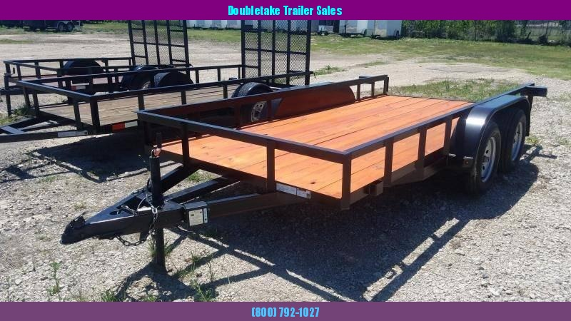 2019 Salvation Trailers 77X14TAU  Open Utility Trailer