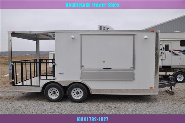 8.5 x 18 Concession Trailer in IA