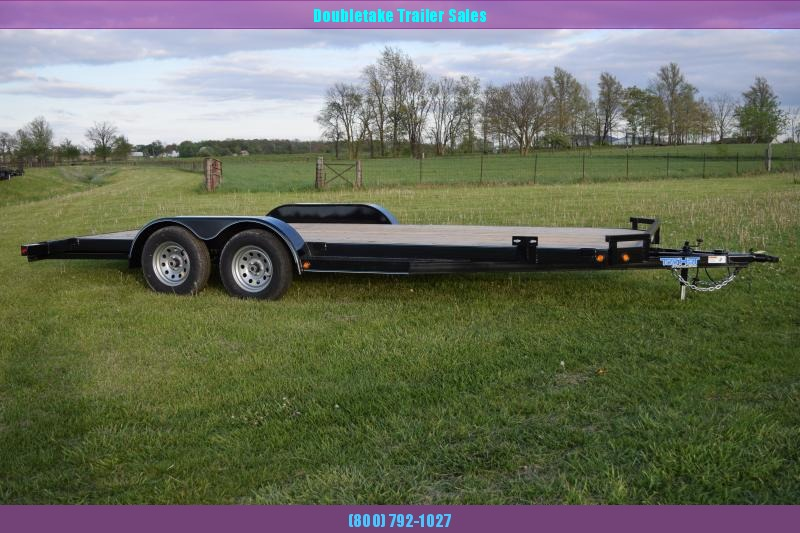 2019 Top Hat Trailers TH20X83DCH Open Car Hauler