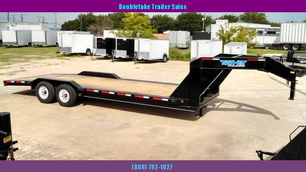2018 Top Hat Trailers EHGN Open Equipment Trailer