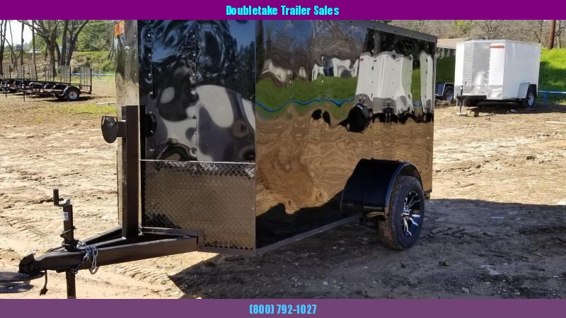 2019 Salvation Trailers 5X10SA Motorcycle Trailer