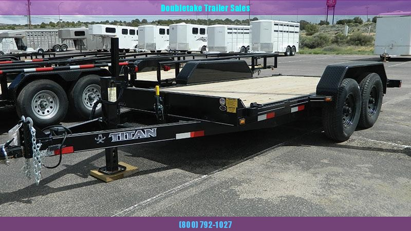2019 Titan Trailers TILT DECK Equipment Trailer