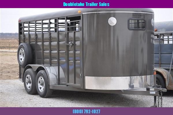 Heavy Duty 16' Livestock Trailer