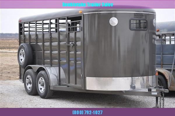 Heavy Duty 16' Livestock Trailer