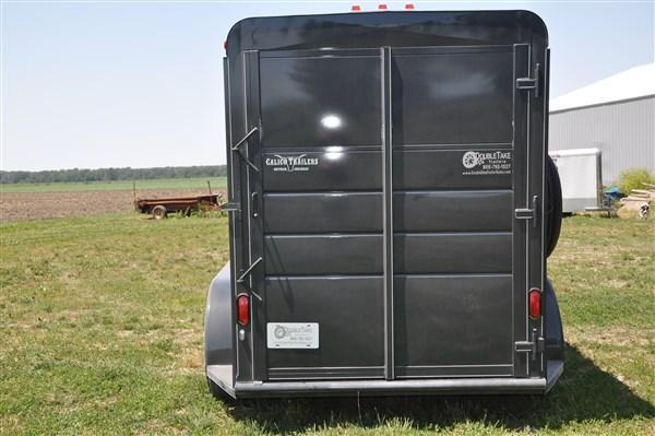 2019 Calico combo horse/stock trailer extra tall