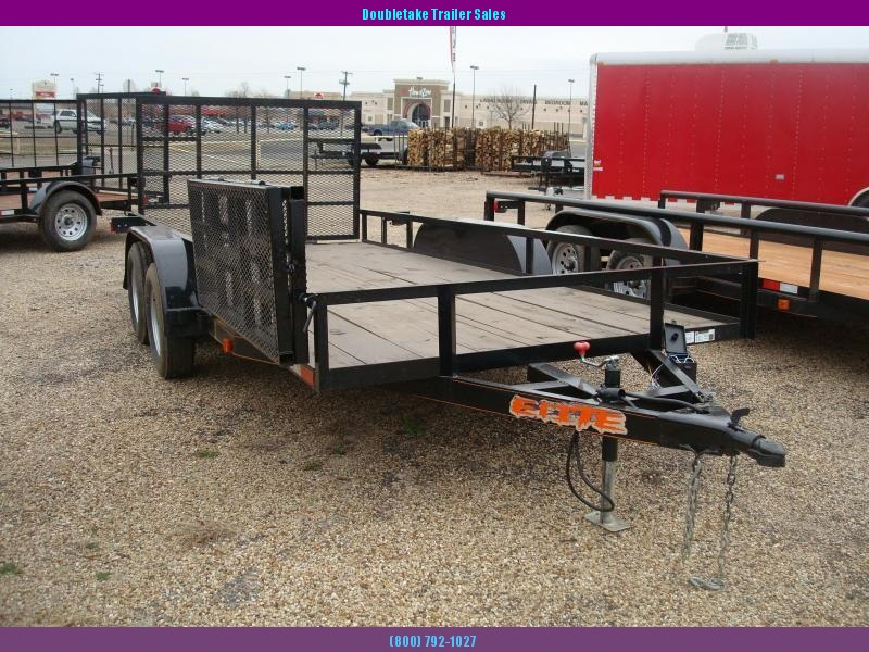 2019 Salvation Trailers 7X16ata Open Utility Trailer