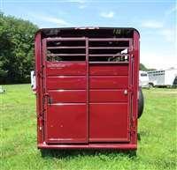 Calico 6 x 7 x 16 BP Deluxe Livestock Trailer
