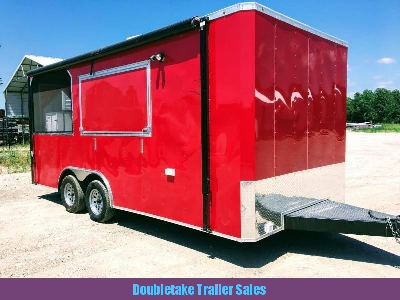 2019 Salvation Trailers 8.5X18TA Vending / Concession Trailer