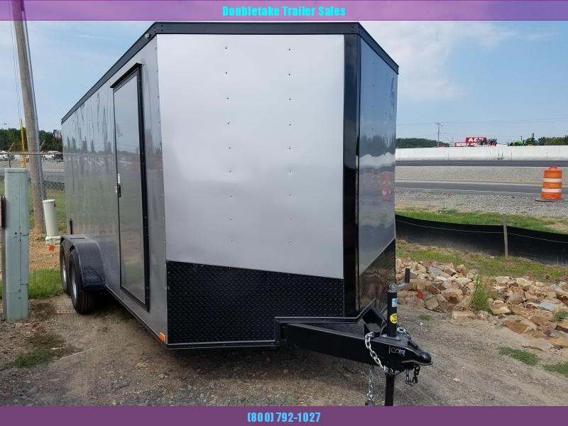 2019 Spartan 7X16TA Motorcycle Trailer