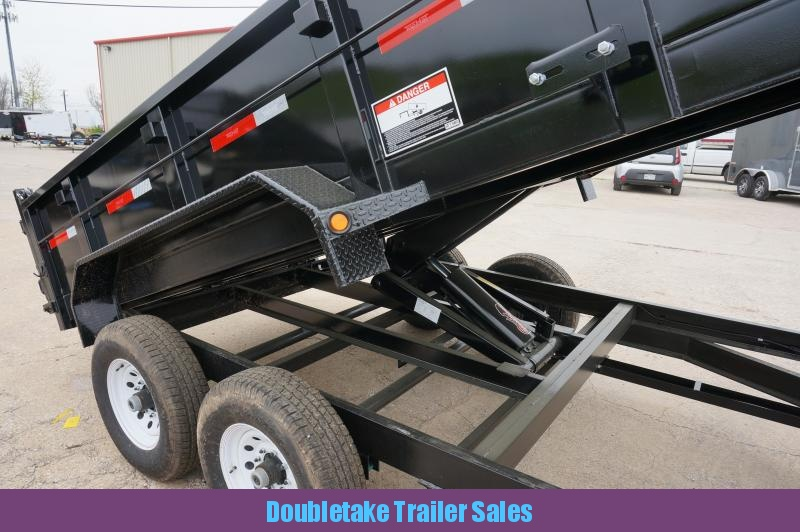 2018 Top Hat Trailers Open DP140 Dump Trailer in Clearmont, MO