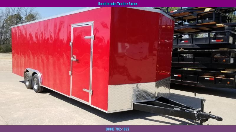 2019 Salvation Trailers S8.5X24TA Car / Racing Trailer