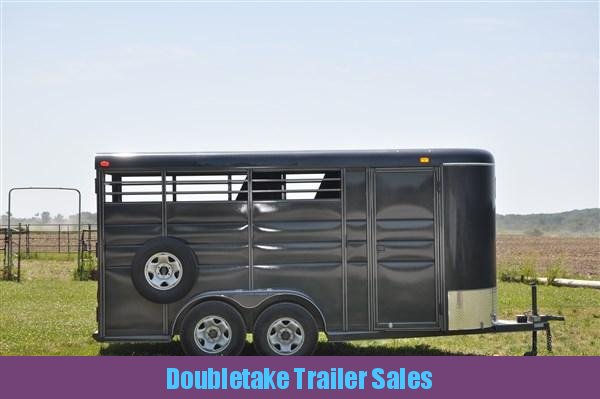 Calico 6 x 7 x 16 3H BP Slant Load Horse Trailer