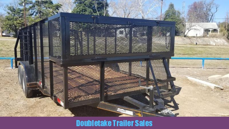 2019 Salvation Trailers S83X16LS Utility Trailer