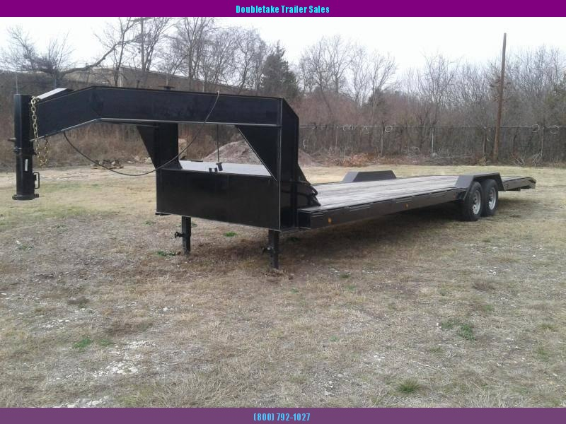 2019 Salvation Trailers S102X28E Open Equipment Trailer