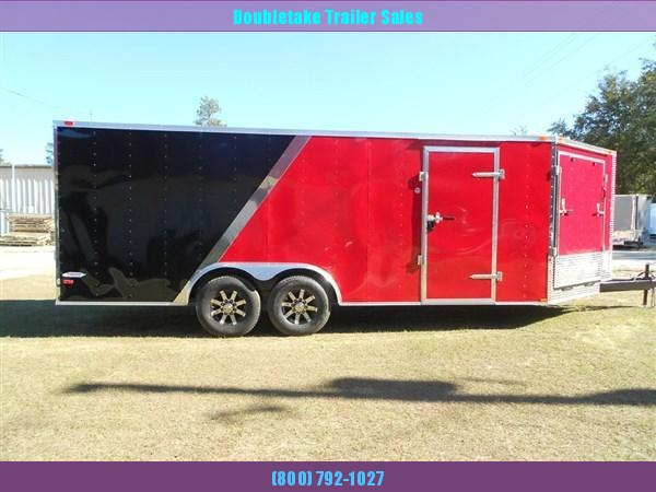 8.5X18 SNOWMOBILE TRAILER in Ashburn, VA