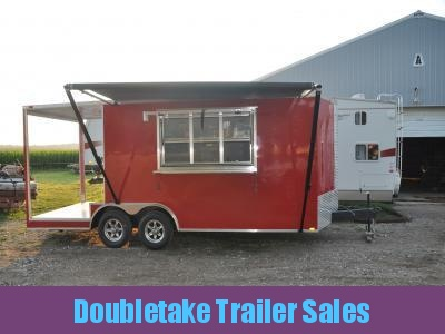 8.5 X 20 BARBEQUE CONCESSION TRAILER