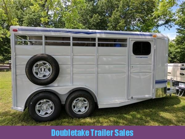 Calico 2H BP Straight Load Horse Trailer