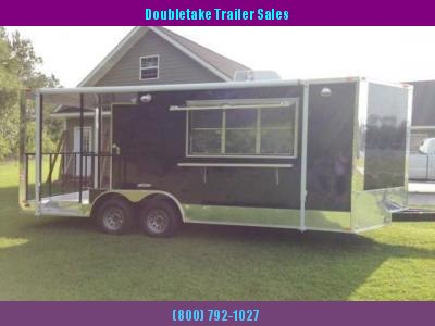 FREEDOM 22 FOOT CONCESSION BBQ TRAILER