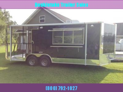 SPARTAN 22 FOOT CONCESSION BBQ TRAILER