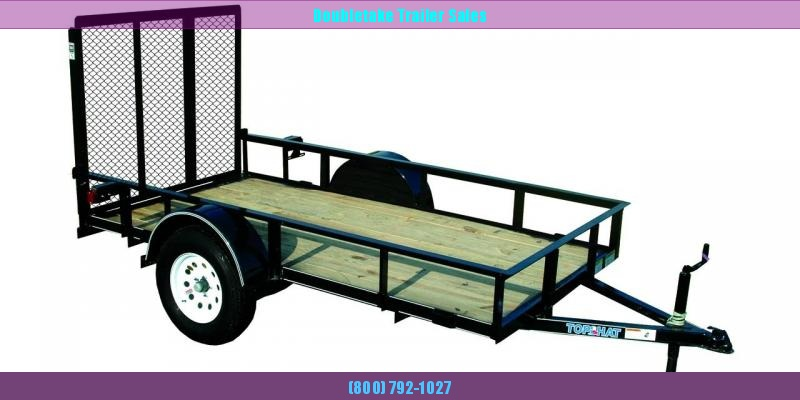 2018 Top Hat Trailers 10X72 EXPRESS Open Utility Trailer