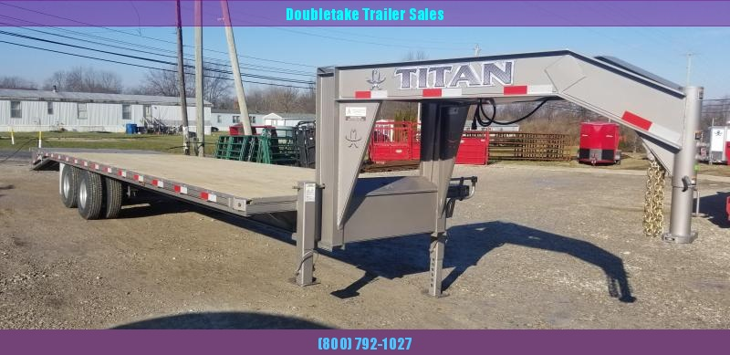 2019 Titan Trailers T266R Flatbed Trailer
