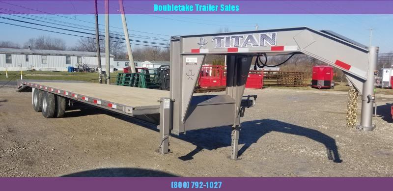 2020 Titan Trailers T266R Flatbed Trailer
