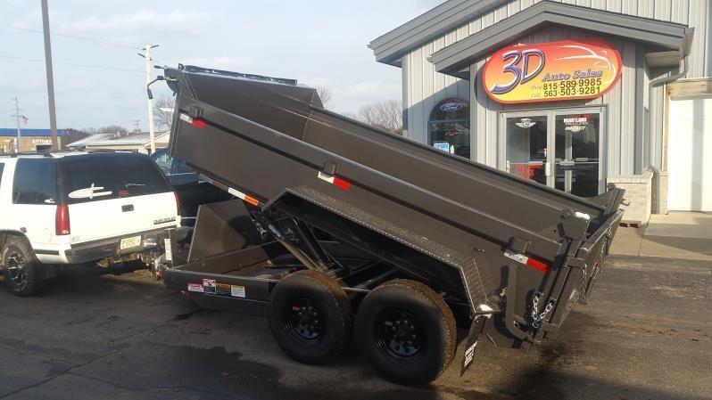 2019 Travalong 12 ft 14K Commercial Dump Trailer