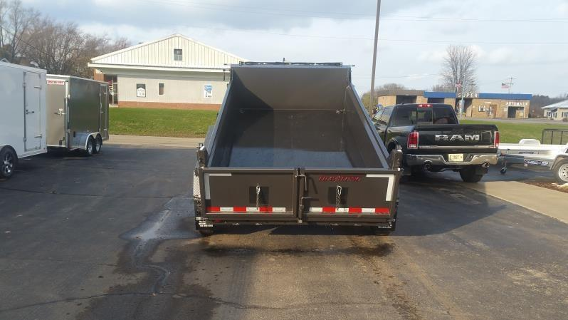 2019 Travalong 12 ft 14K Commercial Dump Trailer
