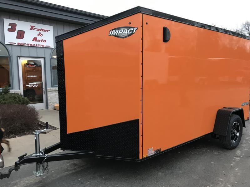 2019 Impact 6 x 12 x 6 Enclosed Trailer in Ashburn, VA