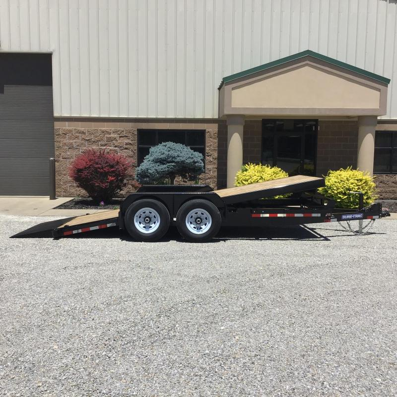 2019 Sure-Trac 7 x 18 Tilt Bed Equipment Trailer