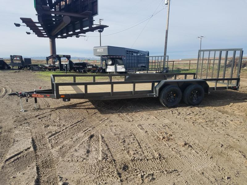 2019 MAXXD 7X20 Utility Trailer With Rear Ramp in Ashburn, VA