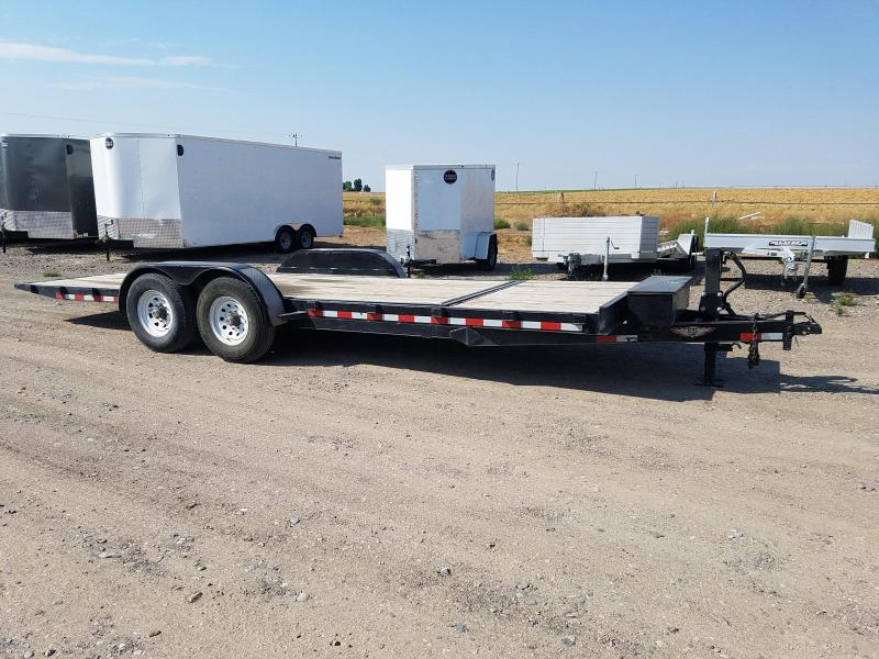 2015 H and H Trailer 22' x 14K Gravity Tilt Equipment Trailer