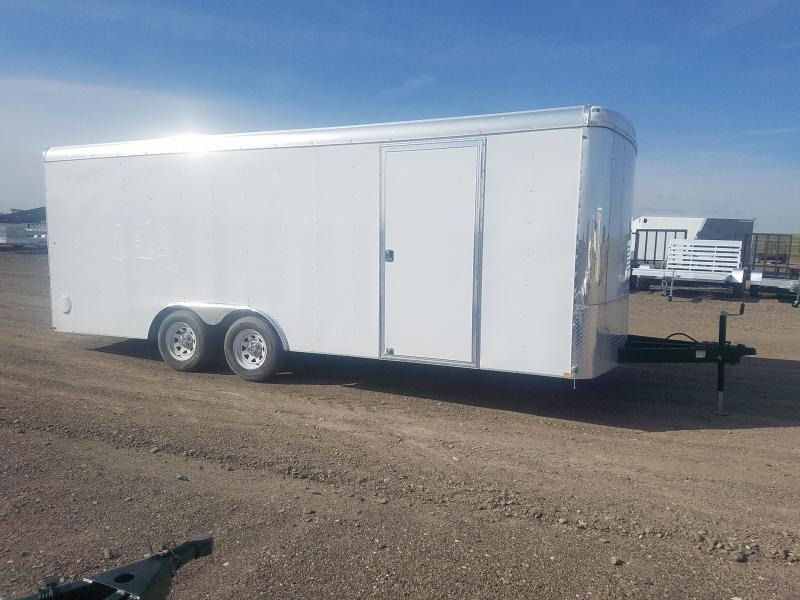 2016 TNT Motocorp 102x20 Enclosed Cargo Trailer