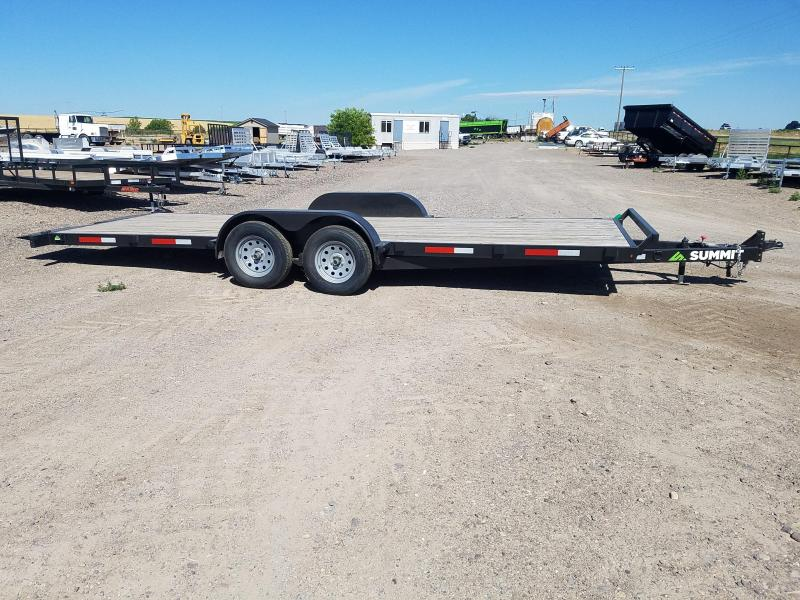 2019 Summit 7 x 20 tilt car hauler