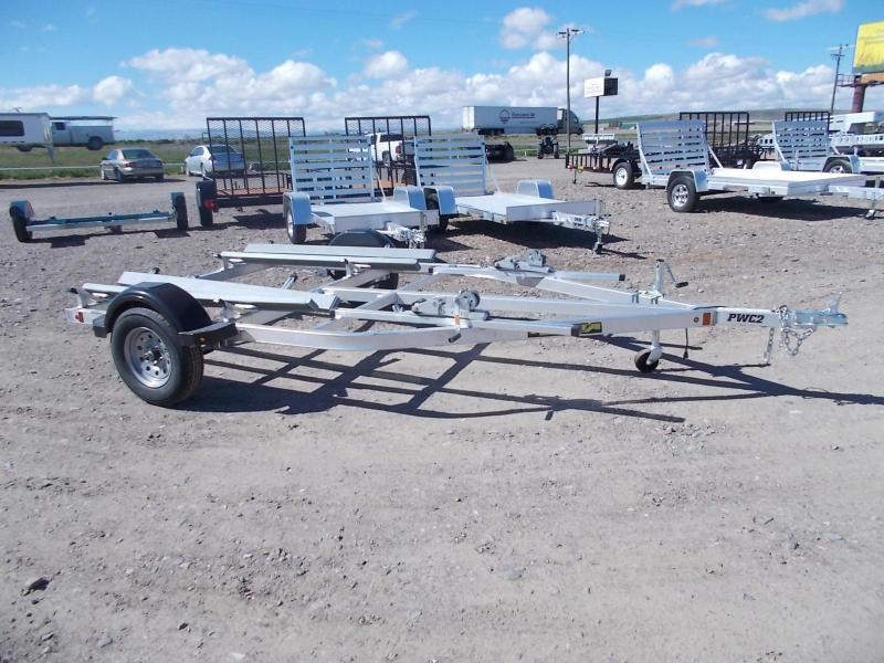 Aluma watercraft trailer 2 place in Ben Wheeler, TX