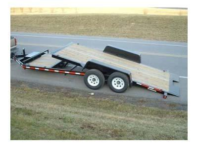 2018 Bri-Mar HT20D-14HD Equipment Trailer