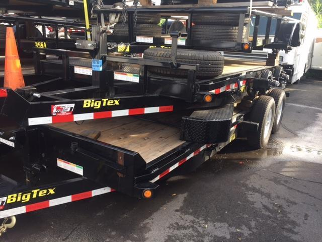 2018 Big Tex Trailers tilt trailers Equipment Trailer