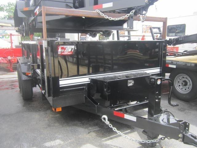 UDump 7 x 14 Dump Trailer