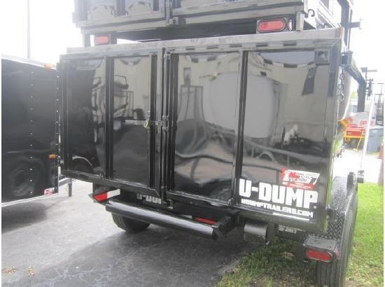 UDump 6 x 12 Roll Off Dump Trailer