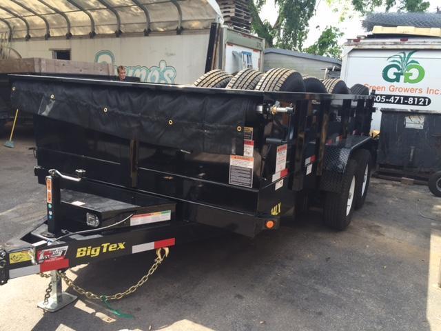 2018 Big Tex Trailers 14LX Dump Trailer