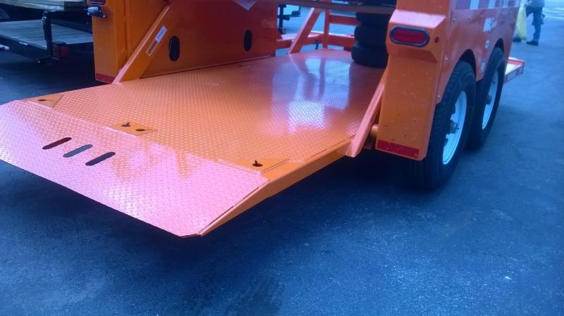 Anderson Manufacturing Hydraulic Ground Level Equipment Trailers