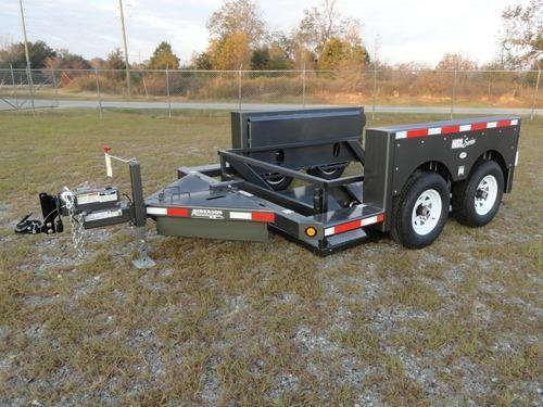 Anderson Manufacturing Hydraulic Ground Level Equipment Trailers in Ashburn, VA
